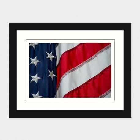 American-Flag – framed
