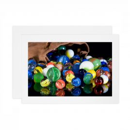 Spilled Marbles – Card