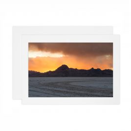 Bonneville Salt Flats – Card