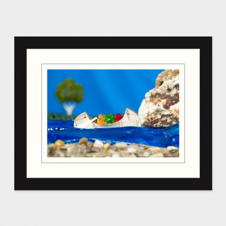 Canoeing-Bears-Framed