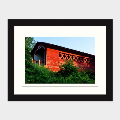 Covered-Bridge-Framed