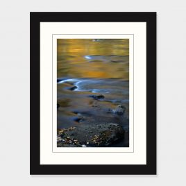 Fall Reflections in Schroon River – Print