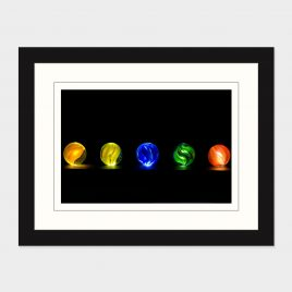 Glowing Marbles – Print