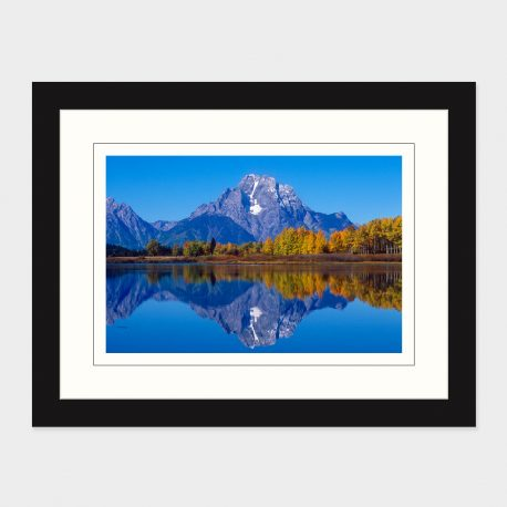 Grand-Tetons-with-Fall-Reflections-Framed