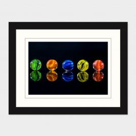 Reflected Marbles – Print