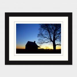 Saratoga Battlefield Sunrise – Print