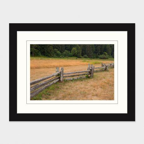 Split-Rail-Fence-Framed