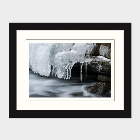 Winter-Stream-Framed