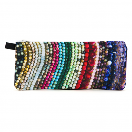 Zippered Pencil Case: Beads