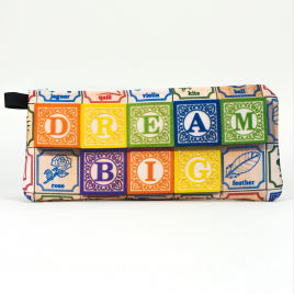 Zippered Bag: Dream Big