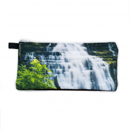 Zippered Bag: Waterfall