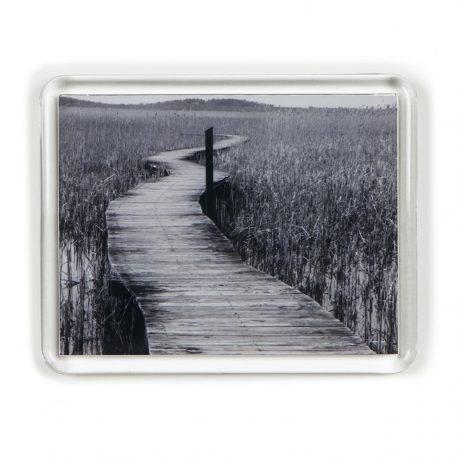 B&W Boardwalk – Magnet