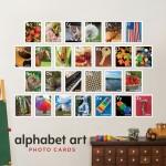 Alphabet Art for kids, Kid room decór