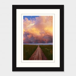 Boardwalk Toward the Clouds – Print