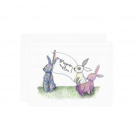 Bunny Thank You Notes