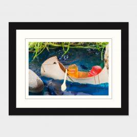 Canoeing Gummy Bears – Print