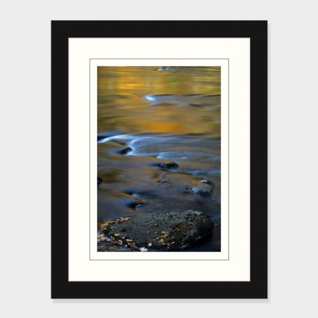 Fall-Reflections-Schroon-River-Framed