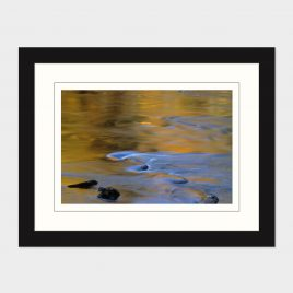 Fall Reflections in Schroon River II – Print