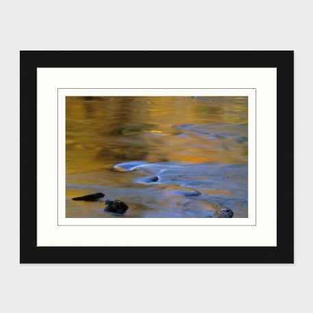 Fall-Reflections-Schroon-River-II-Framed