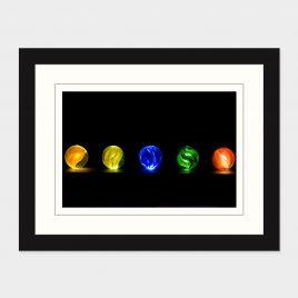 Glowing Marbles – Print