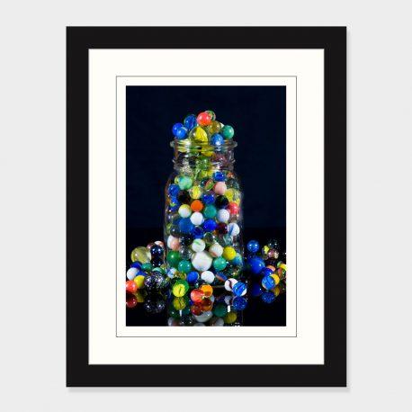 Jar-of-Marbles-Framed