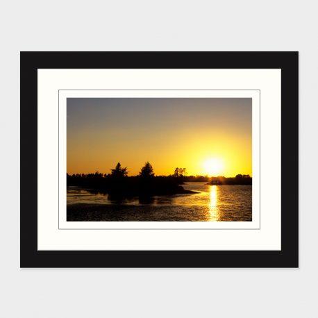 Seney-NWR-Sunset-Framed