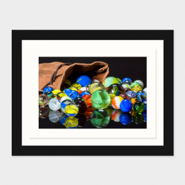 Spilled Marbles – Print