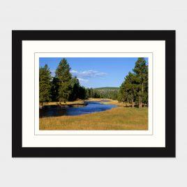 Yellowstone Stream – Print