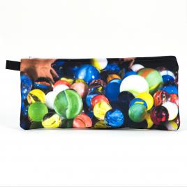 Zippered Bag: Spilled Marbles