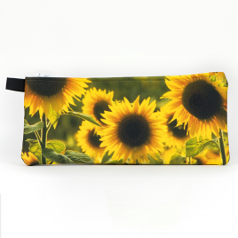 Zippered Bag: Sunflower