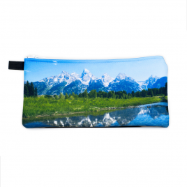 Zippered Bag: Tetons National Park